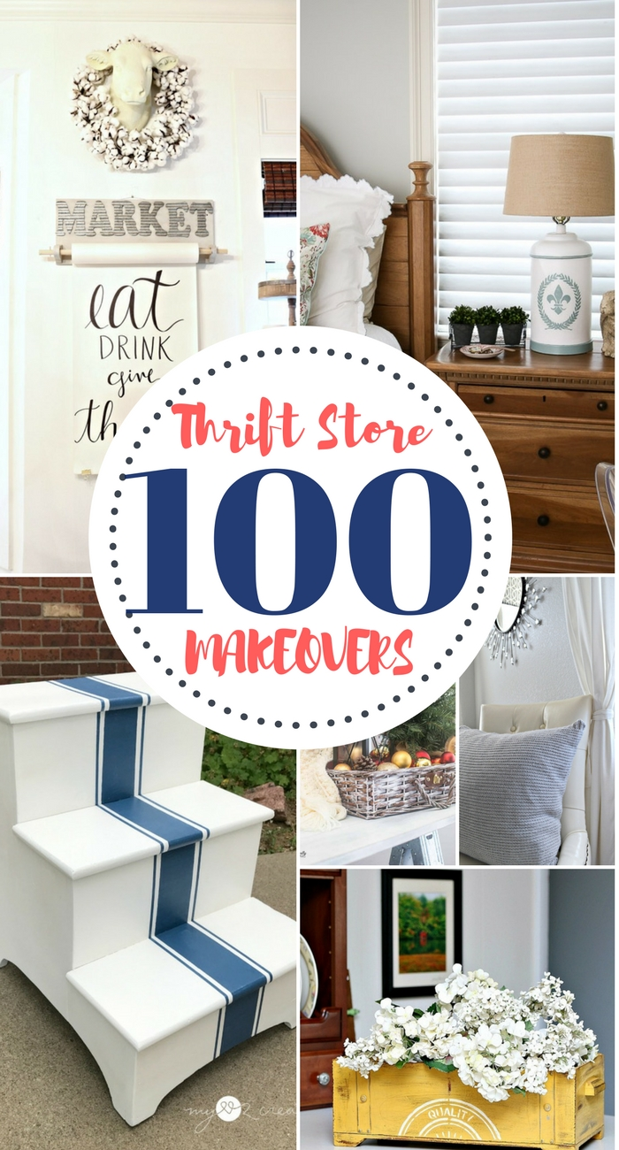 100 DIY Thrift Store Makeovers - Our Southern Home