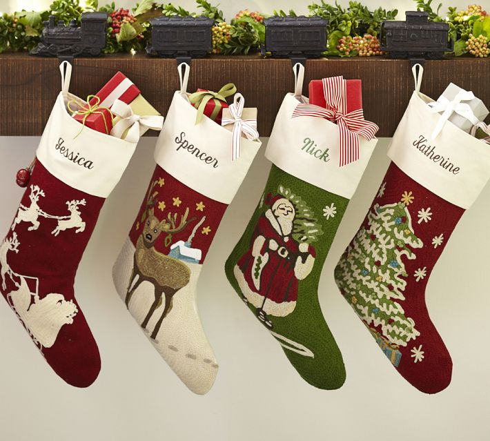Christmas stocking to make or purchase our southern home solutioingenieria Images