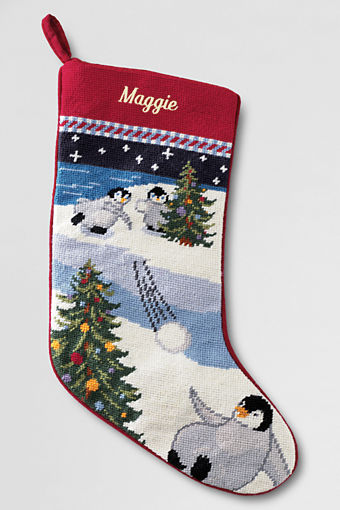 Christmas stocking to make or purchase our southern home classic needlepoint from lands end solutioingenieria Images