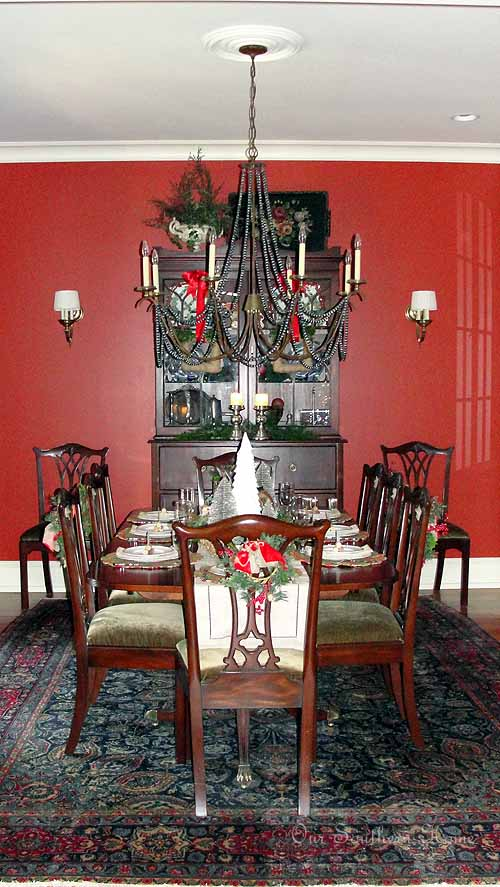 Winter Wonderland Tablescape Dining Room Our Southern Home