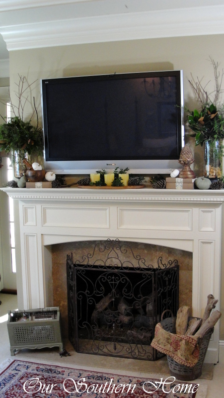Decorating Over Fireplace How Would You Decorate This Mantel