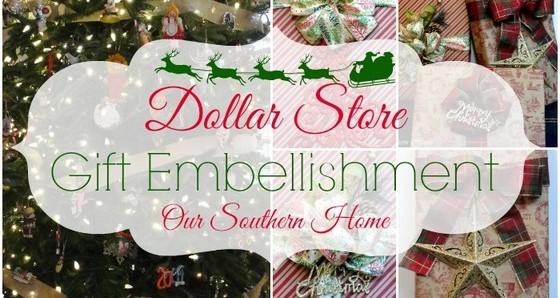 Dollar Store Gift Wrap Ideas