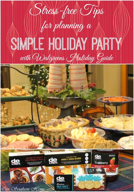 Simple Party Planning With Walgreens Holiday Guide Our