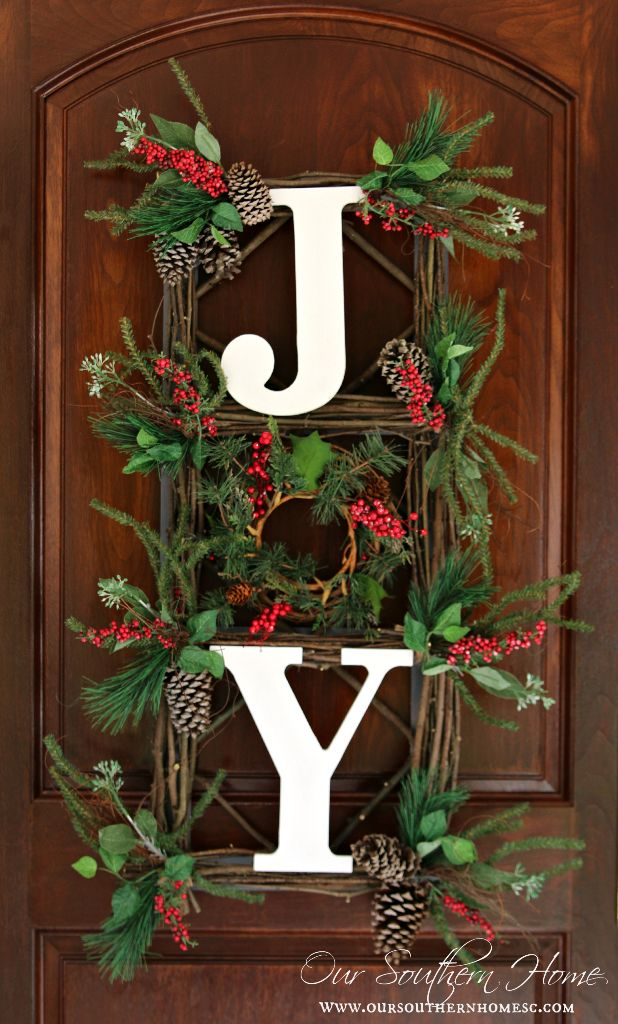 christmas home decor pinterest orvis inspired wall hanging our southern home 10582