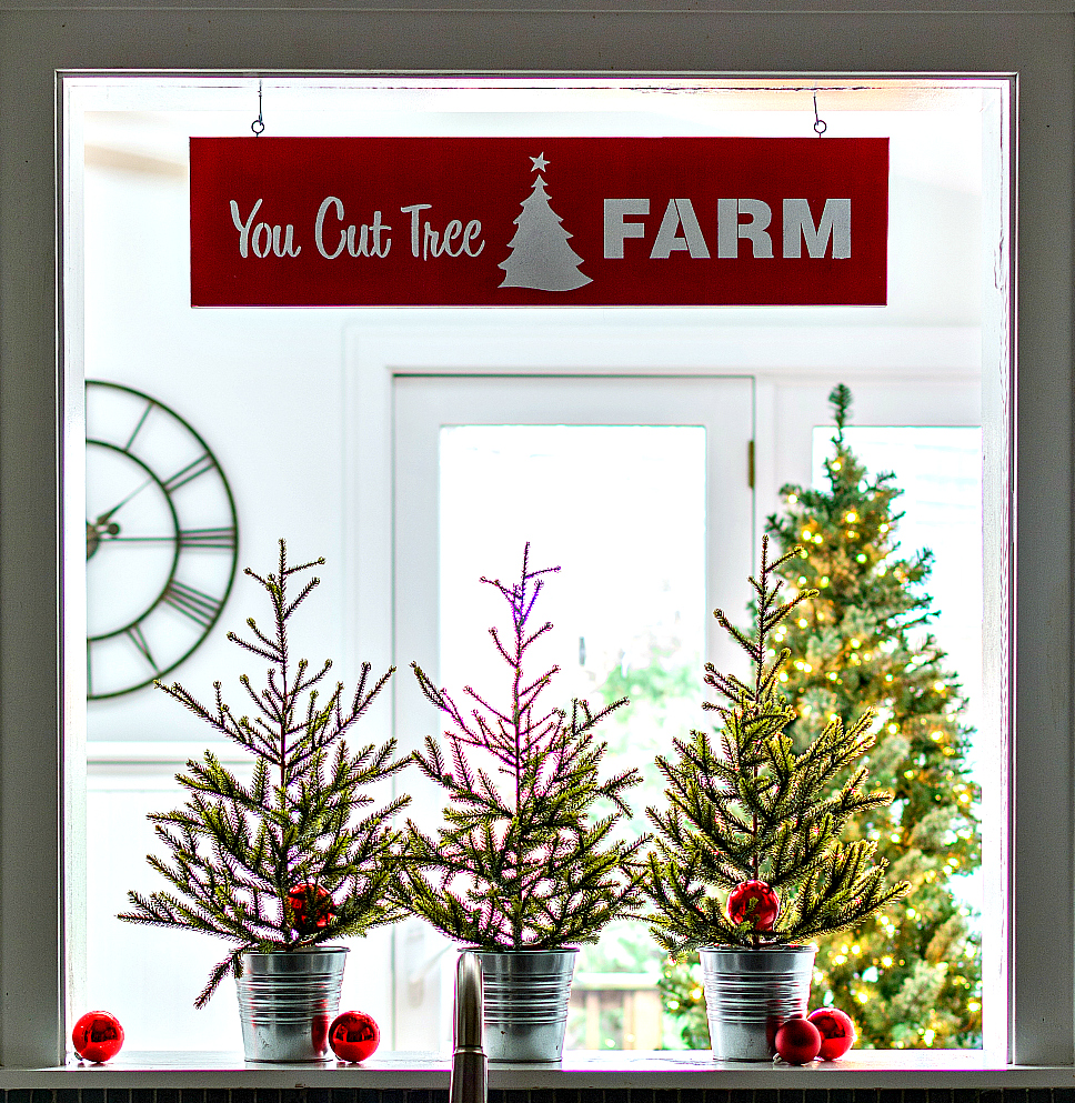 Christmas Tree Sign How To Make