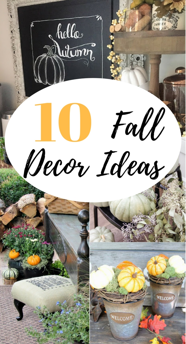 10 fall decor ideas our southern home for Southern home decor ideas