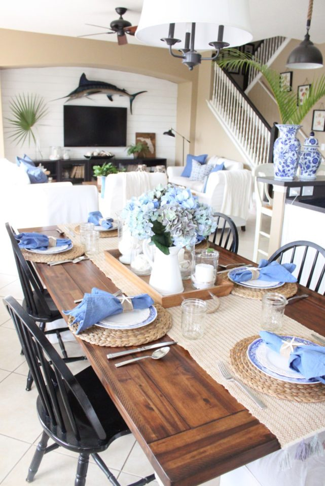 Ideas to freshen up your home what meegan makes for Kitchen table setting ideas