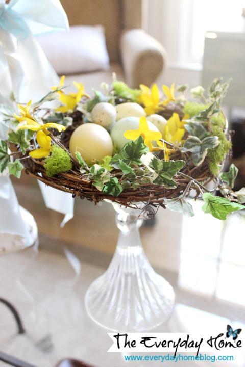 Bird Nest Candlestick {Inspiration Monday Features}