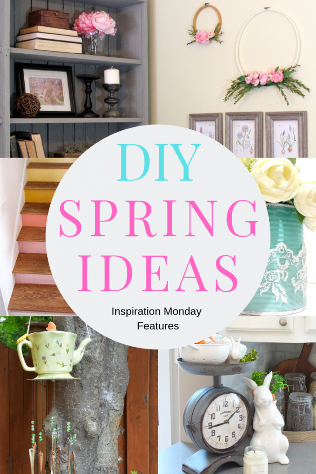 spring ideas pin