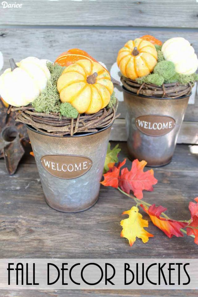 Fall Decorating Ideas are the features from this week's Inspiration Monday link party!