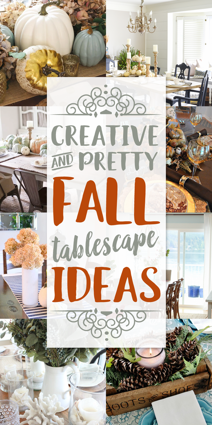 Tablescape Ideas fall tablescape ideas - our southern home