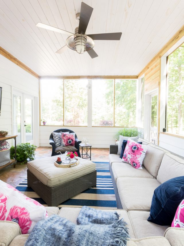30 summer home tours that will inspire everyone! It's an eclectic tour from traditional to farmhouse and everything in between!