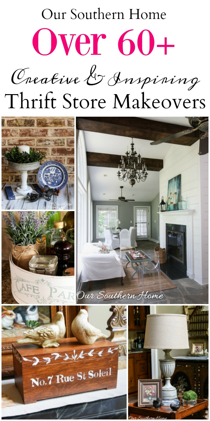Thrifty home decor makeovers our southern home for Thrifty decor