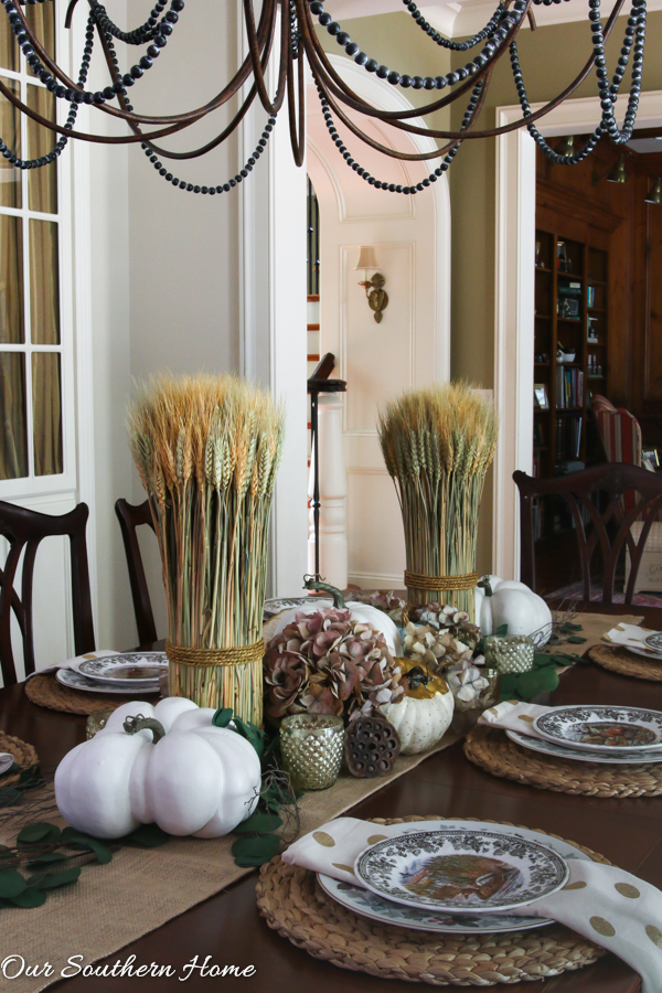 Woodland Fall Tablescape Our Southern Home